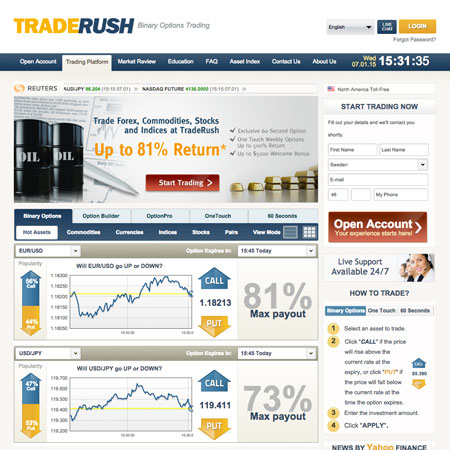 Stockpair binary options demo account uk