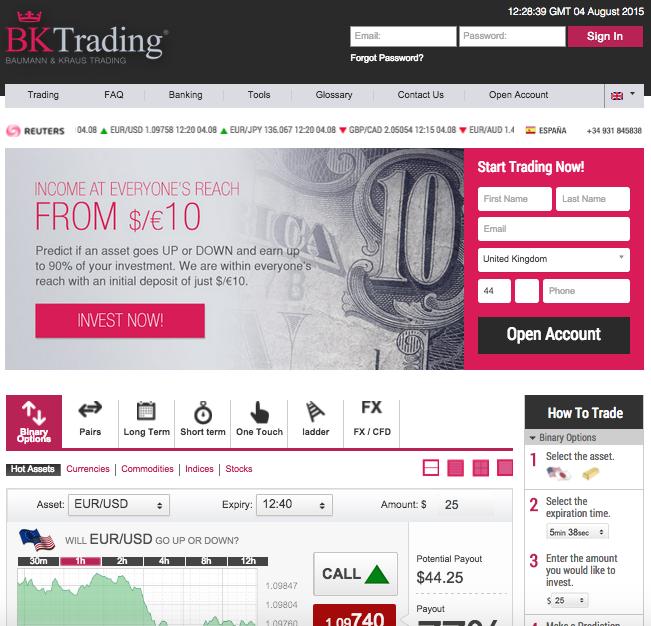 Binary options trading seminars