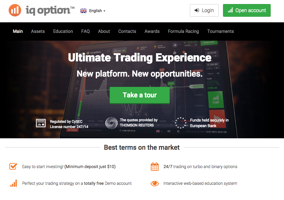 Ig binary options demo