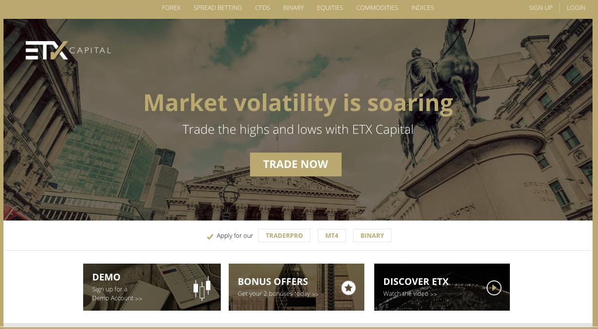ETX Capital screenshot