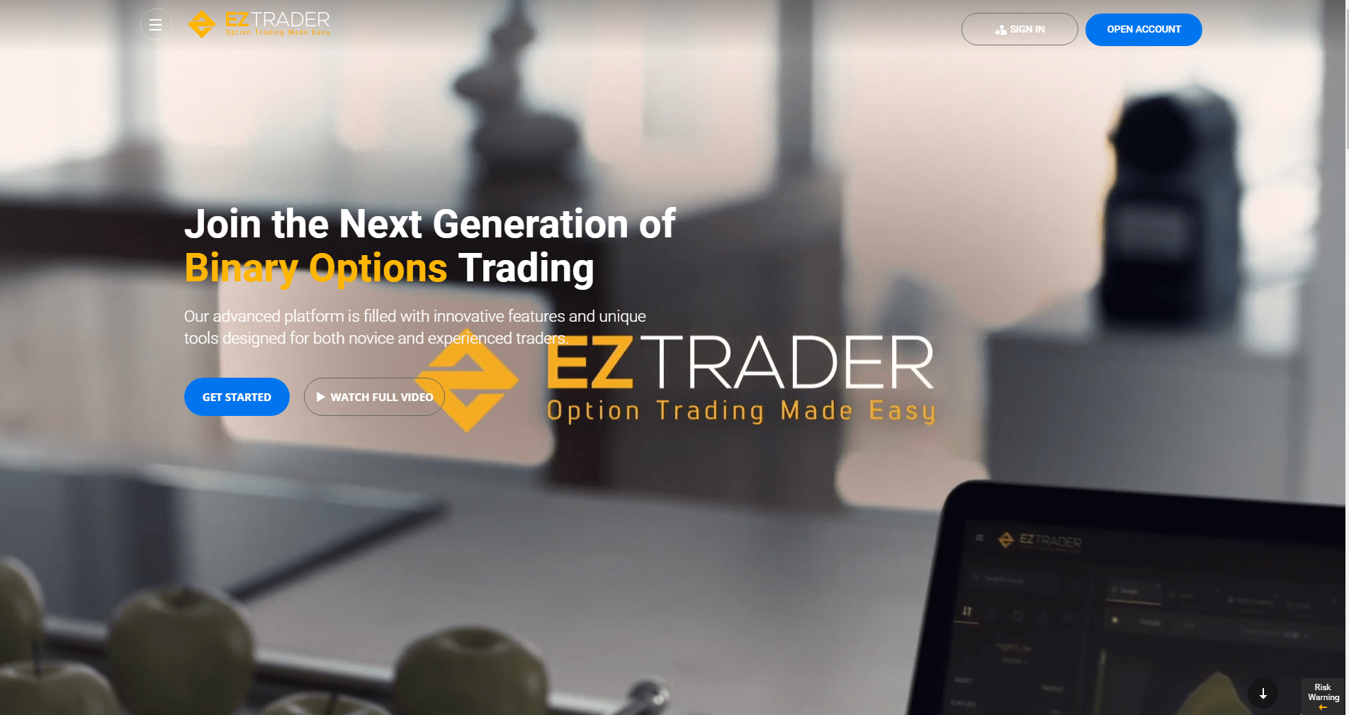 EZTrader screenshot