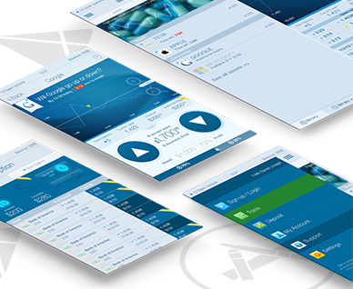 Binary option demo app