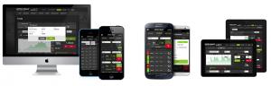 Option Rally Mobile Applications