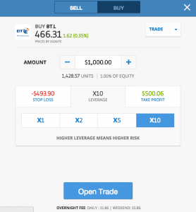 Etoro binary options