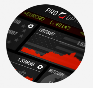 ProOptions mobile app