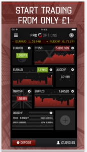 ProOptions iOS screenshot