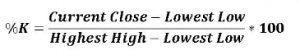Stochastic formula