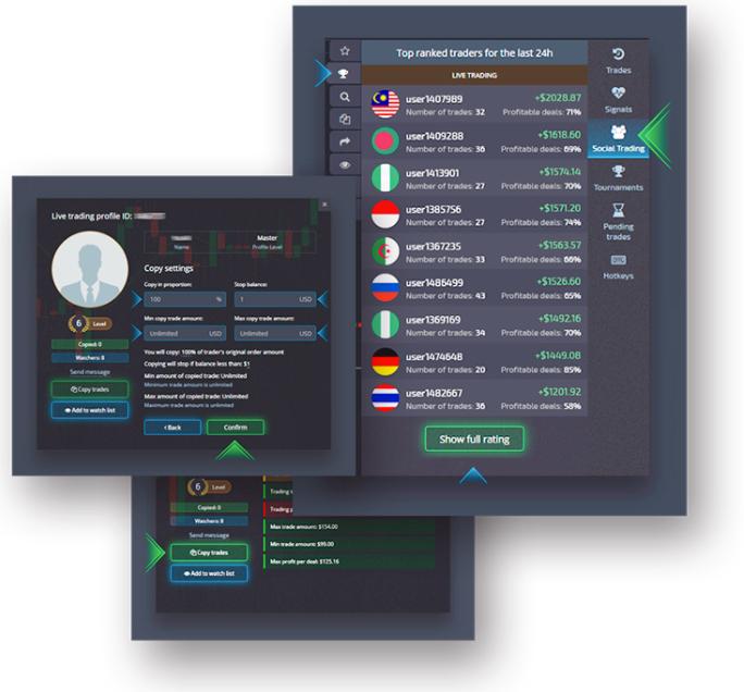 pocket option platform